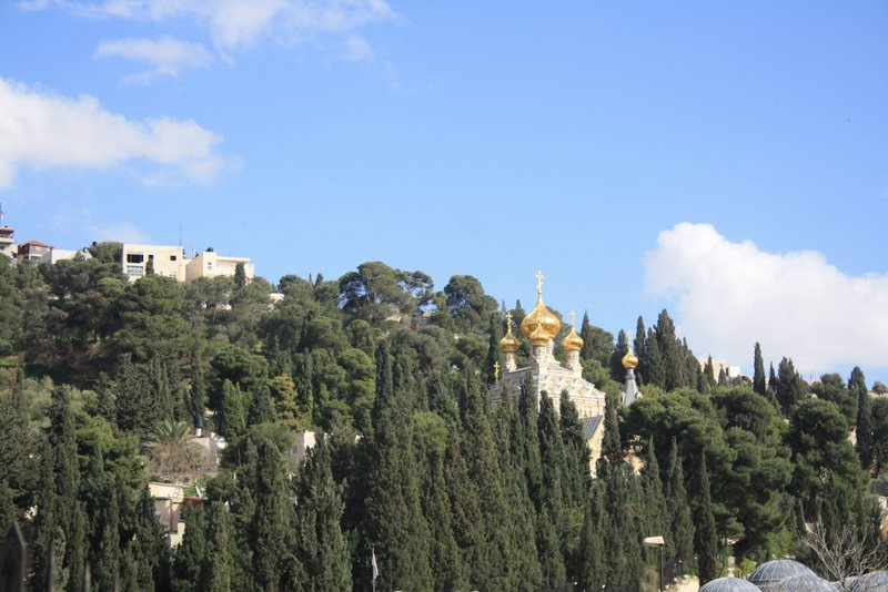RUSSIAN CHURCH ON MT OLIVES
