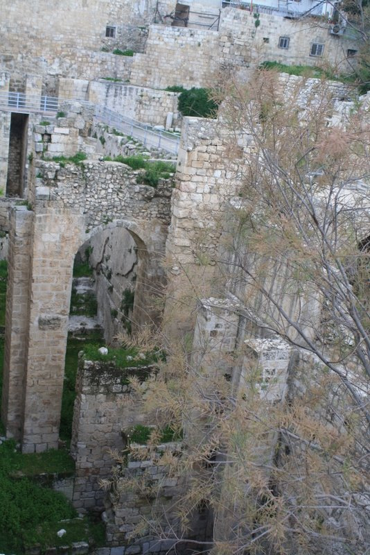 POOL OF BETHESDA - FIVE PORTICO'S  MARK 8:5