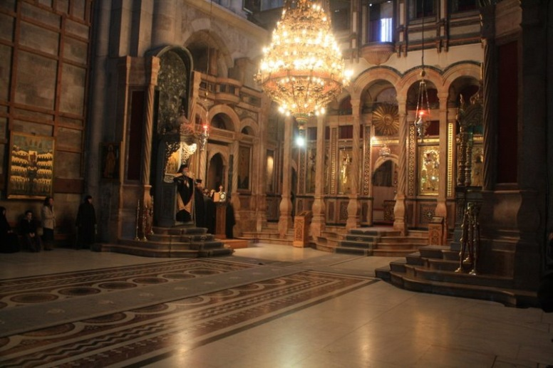 INSIDE HOLY SEPULCHRE