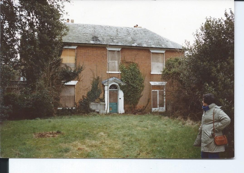 back of Nutbournw House Veronica & Tom 1
