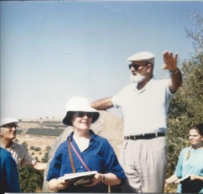 FR BARGIL PIXNER OSB TEACHING US IN GALILEE
