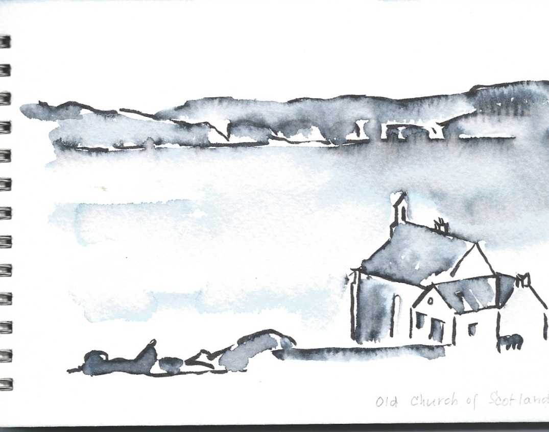 pen drawing Iona 10